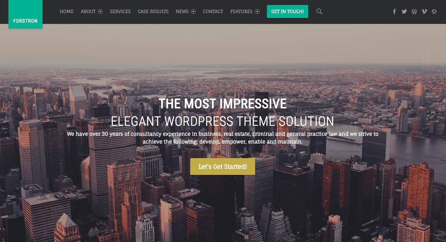 premium wordpress themes for attorneys