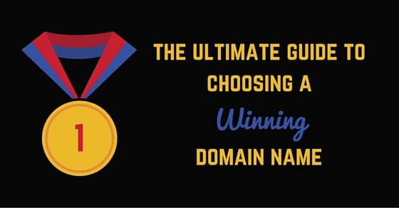 guide choosing domain name